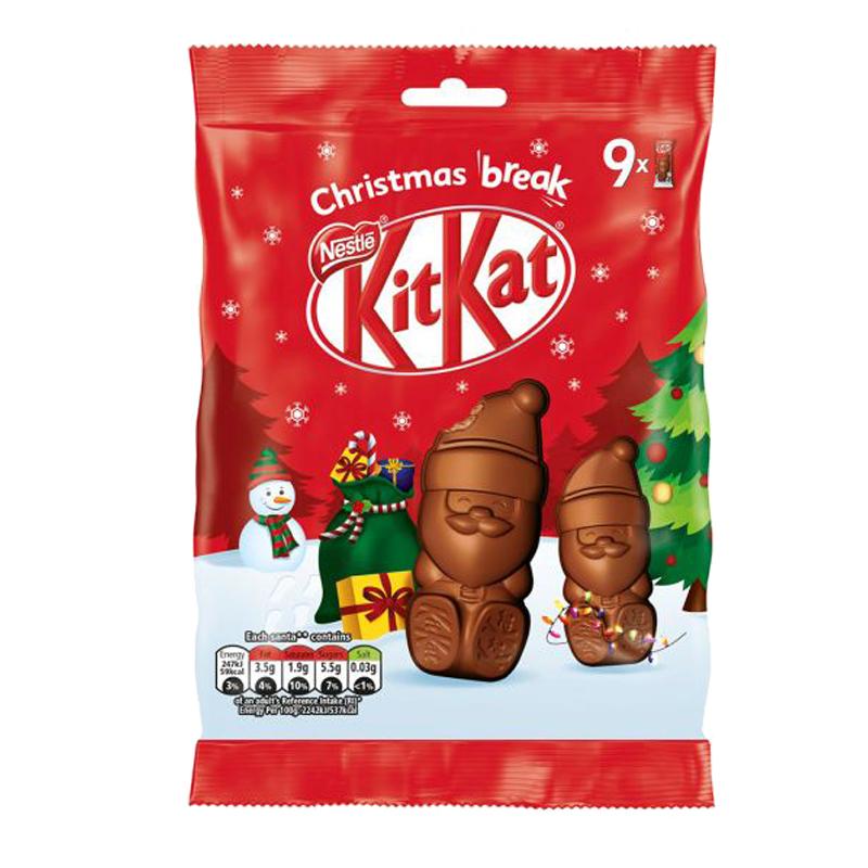 Kitkat Santa Suklaapatukat - 20% alennus