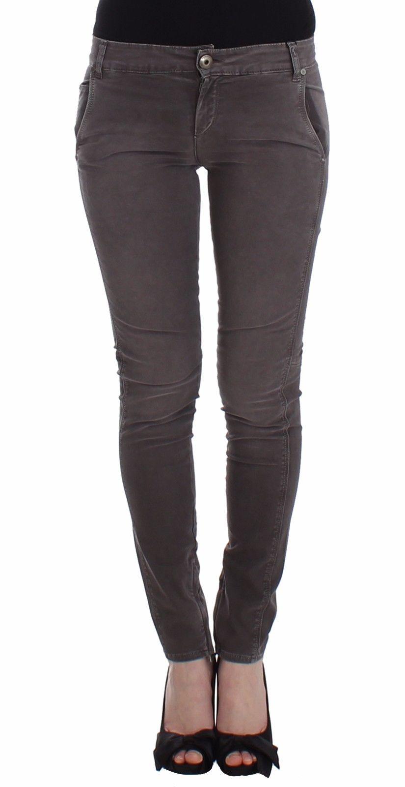 Ermanno Scervino Women's Slim Jeans Grey SIG12460 - W26