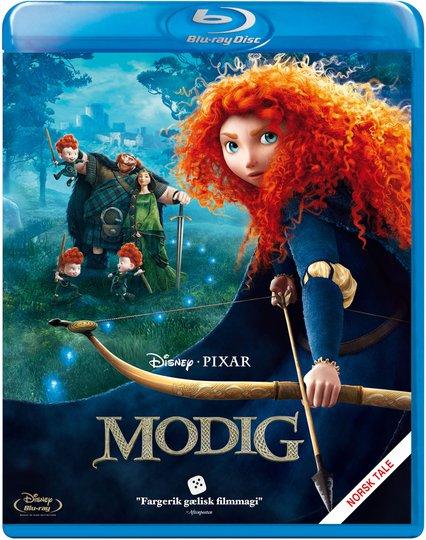 Disney Pixar Modig Blu-Ray
