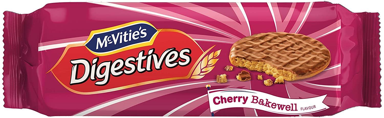 Mcvities Digestives Milk Choc Cherry Bakewell 250g
