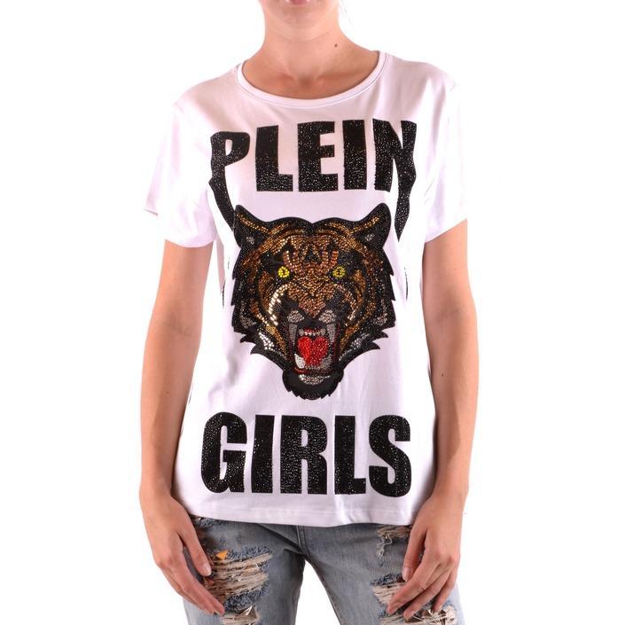 Philipp Plein Women's T-Shirt White 188839 - white S