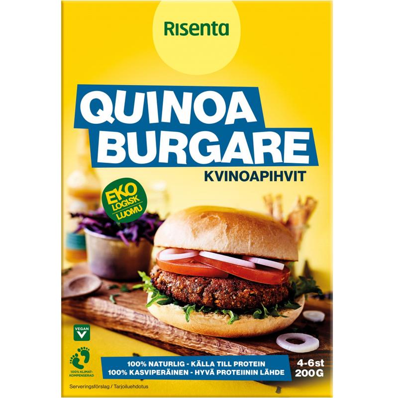 Luomu Kvinoapihviainekset 200g - 45% alennus