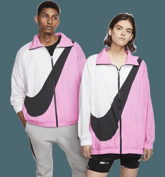 Nike W Swsh Jkt Wvn Cb Jackor CHINA ROSE/WHITE/B