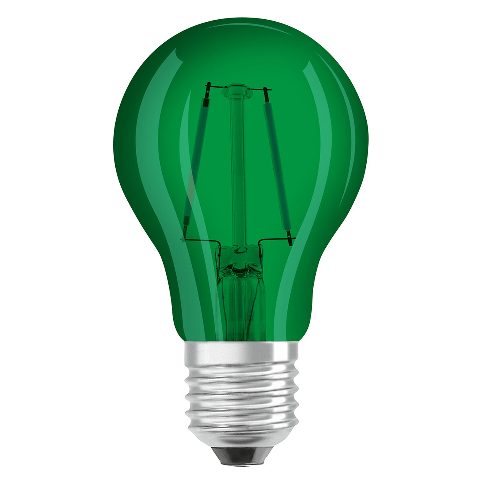 OSRAM-LED-lamppu E27 Star Décor Cla A 2,5W vihreä
