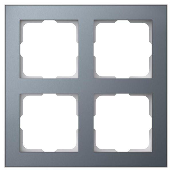 Elko EKO06918 Yhdistelmäkehys tina/alumiini 2 x 2 lokeroa