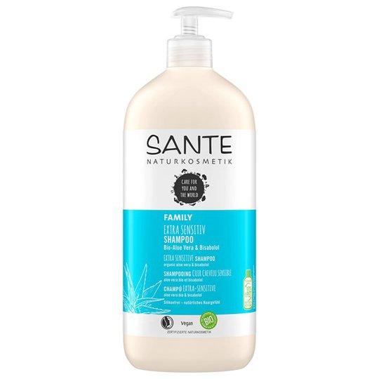 Sante Extra Sensitive Shampoo Aloe Vera & Bisabolol, 950 ml