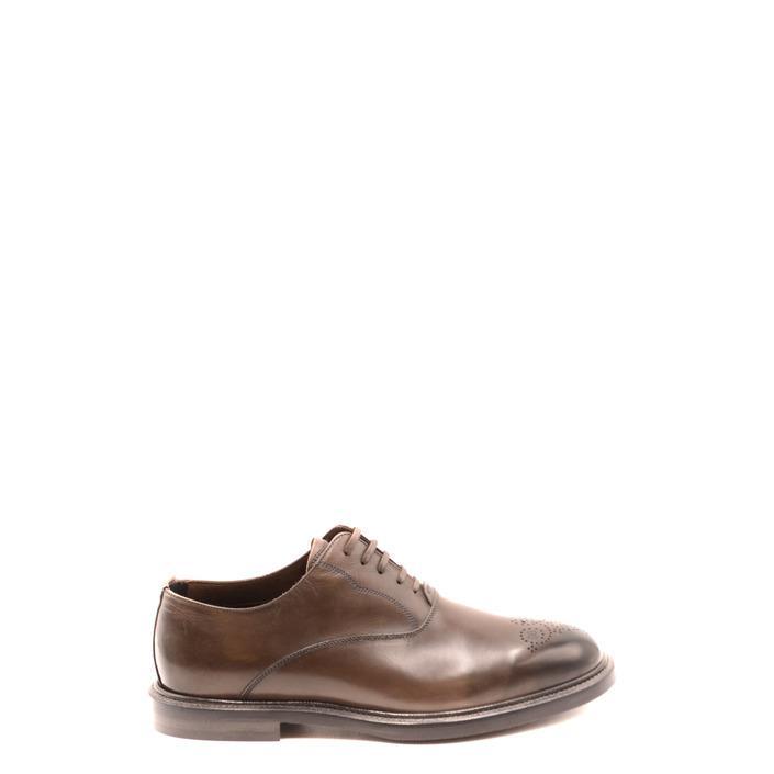 Dolce & Gabbana Men's Lace up Shoe Grey 182043 - grey 41