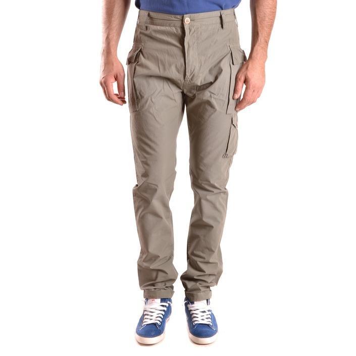 Daniele Alessandrini Men's Trouser Green 187082 - green 28