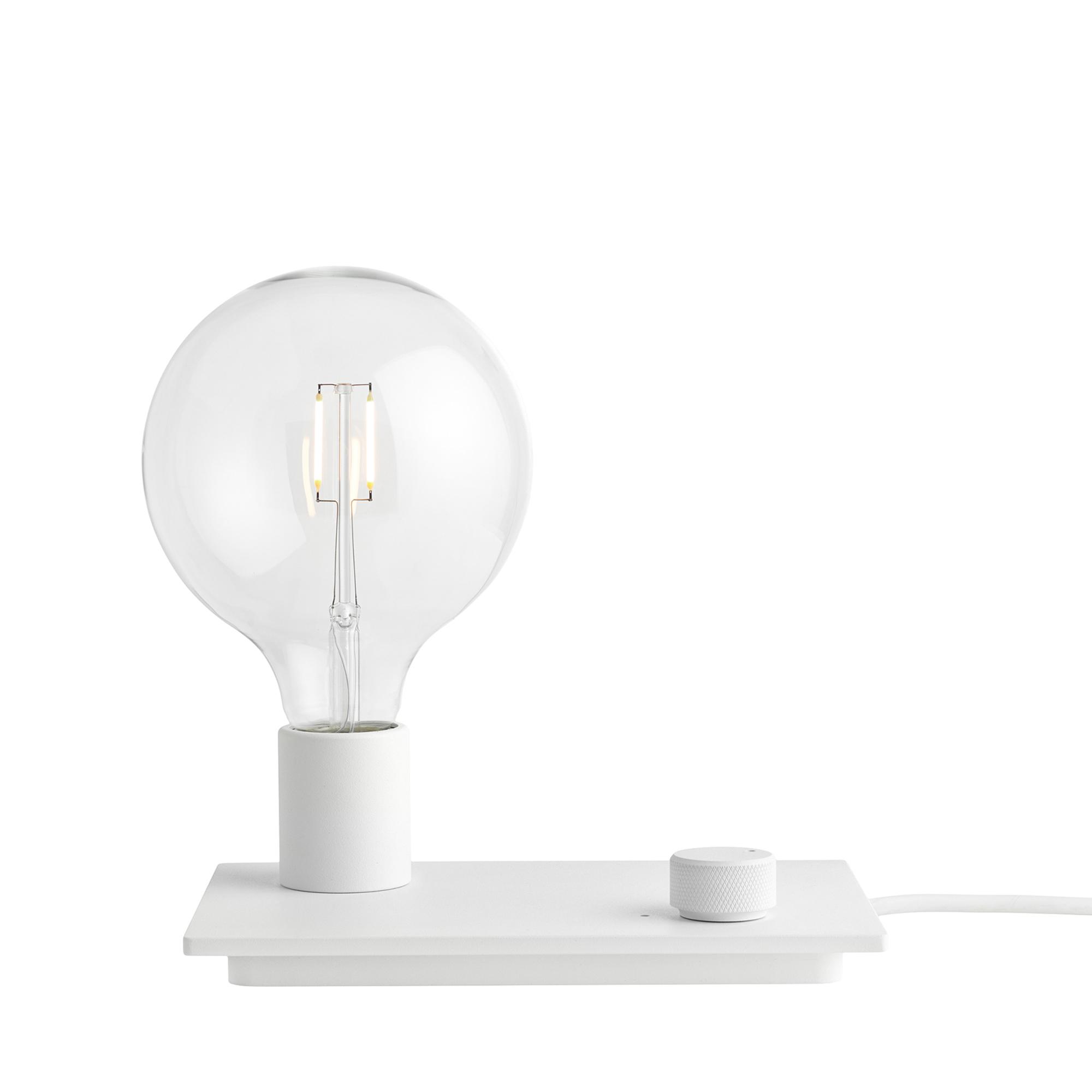 Muuto Lampa Control vit LED