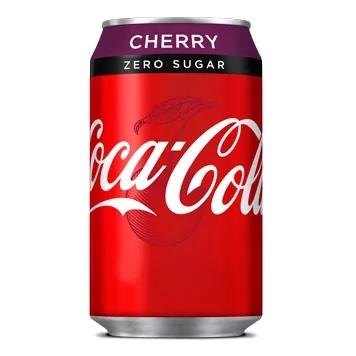 Coca-Cola Cherry Zero Sugar 330ml