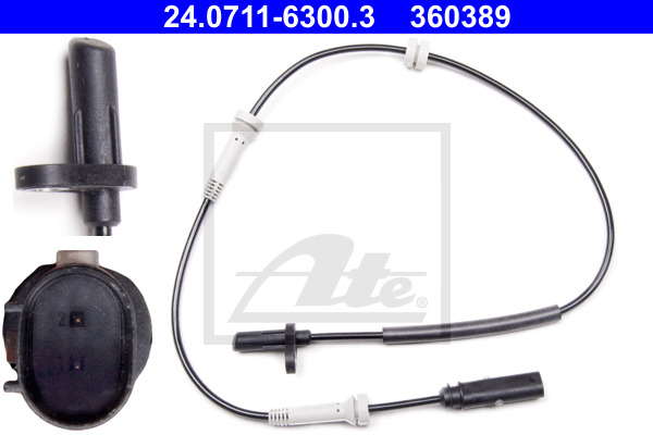 ABS-anturi ATE 24.0711-6300.3
