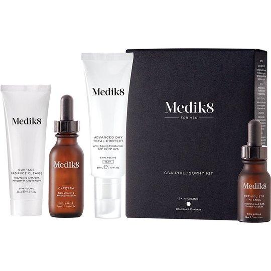 CSA Philosophy Kit for Men, Medik8 Ihonhoitopakkaukset