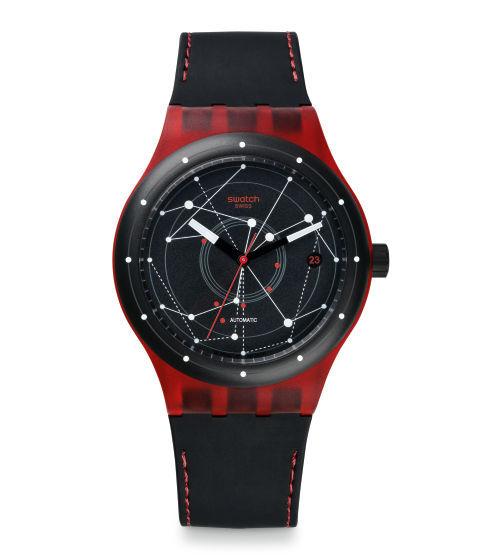 Swatch Sistem Red SUTR400 Herrklocka