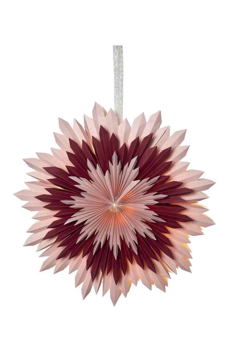 Paperitähti roosa Ice 55 cm
