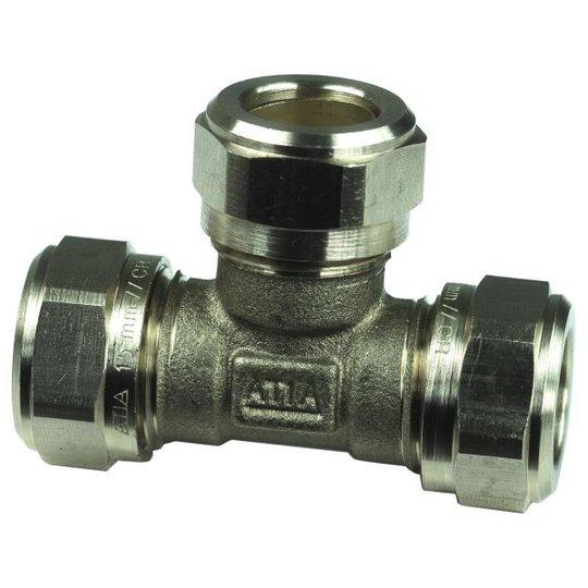 Gelia 3006129162 Kiristysrengasliitin T-putki 12 mm