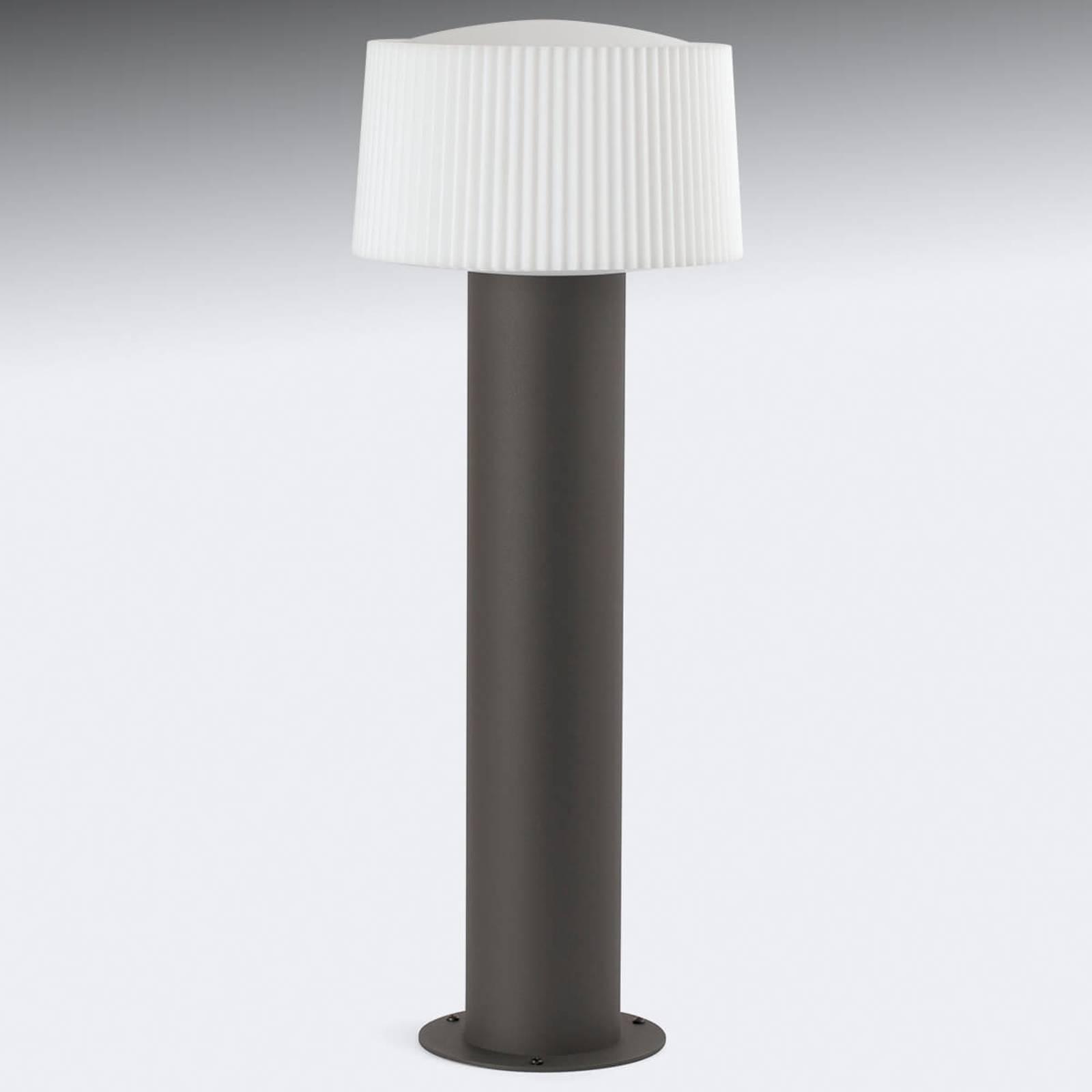 Pollarilamppu Muffin, uritettu varjostin, 55,9 cm