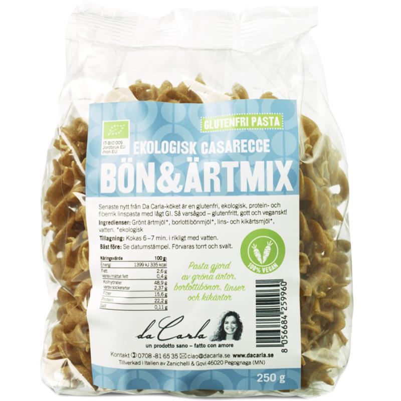 Pasta Bönmix & Ärtmix 250g - 36% rabatt