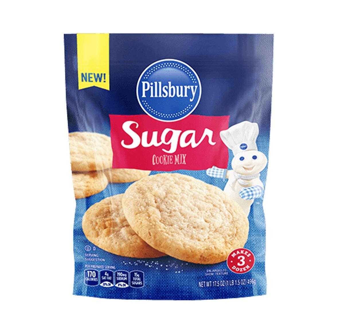 Pillsbury Sugar Cookie Mix 496g