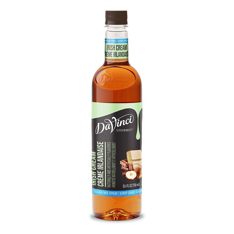 DaVinci Gourmet Syrup Sugar Free Irish Cream 750ml