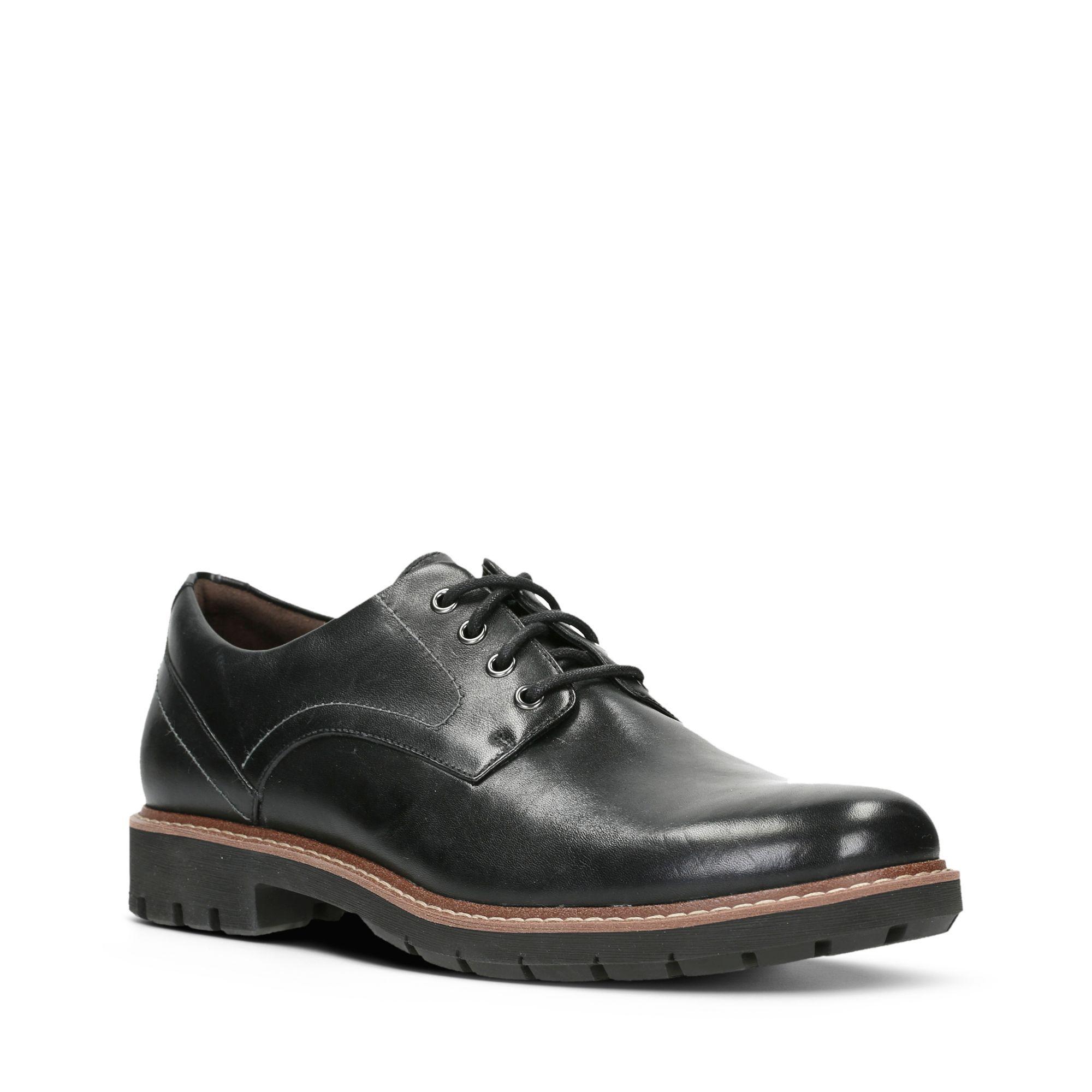Clarks Men's Batcombe Hall Shoes Various Colours 5050409790120 - 6 UK Black