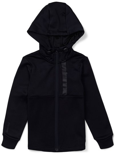 Hyperfied Scuba Zipped Hoodie, Anthracite 86-92