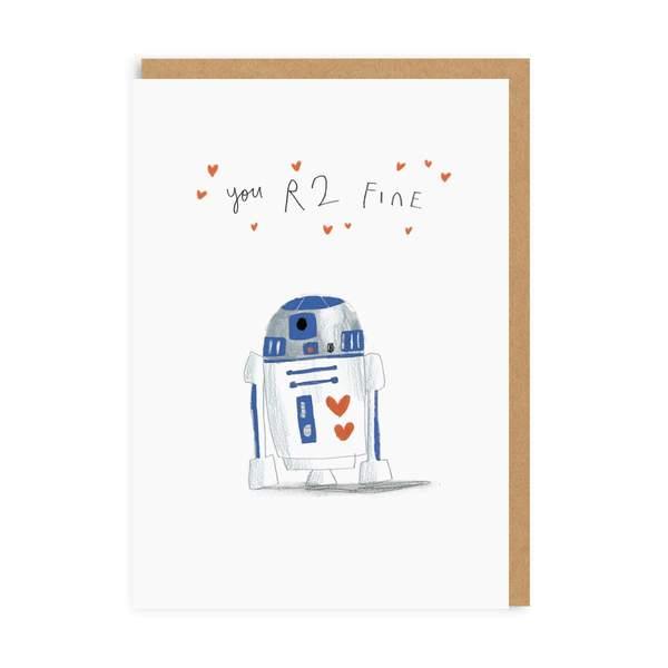 You R2 Fine Greeting Card