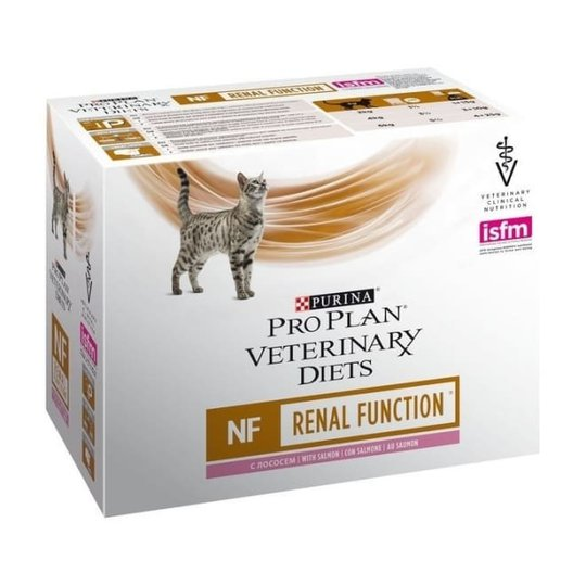 Purina Pro Plan Veterinary Diets Cat NF Renal Function Salmon 10x85 g