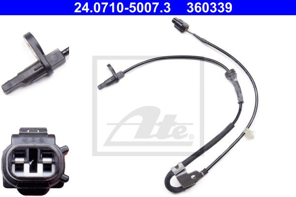 ABS-anturi ATE 24.0710-5007.3