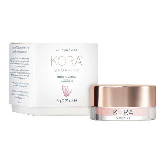 Rose Quartz Luminizer, 6 g Kora Organics Highlighterit