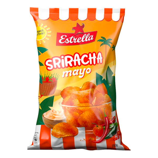 Estrella Sriracha Mayo - 250 gram
