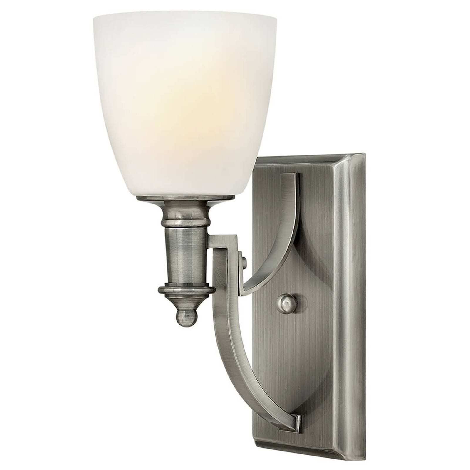 Vegglampe Truman i antikk nikkel
