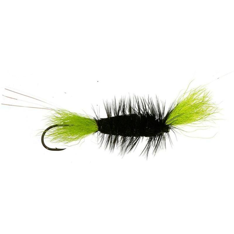 Tube Bomber Black/High Viz Green - Med Kjøp 12 fluer få gratis flueboks