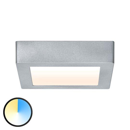 Paulmann Carpo -LED-kattovalaisin kromi 17x17cm