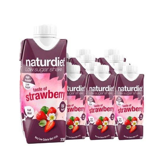 Måltidsersättning Shake Strawberry 12-pack - 26% rabatt