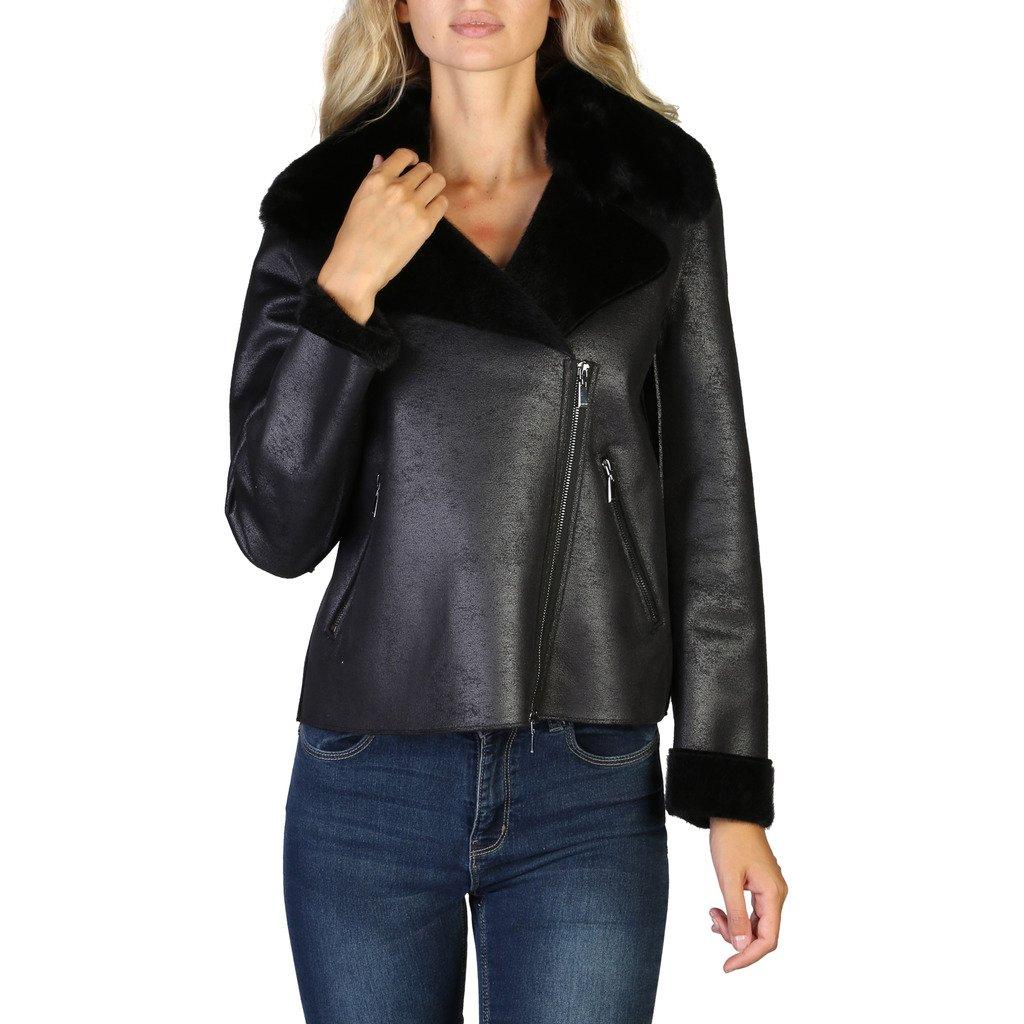 Geox Women's Jacket Black W9420TT2576 - black 42