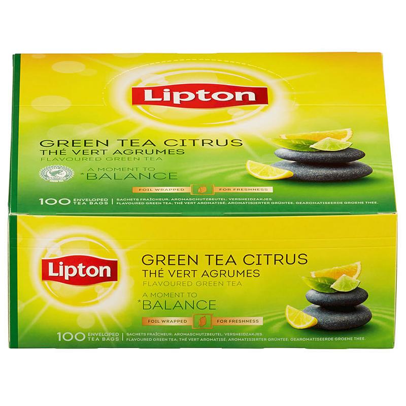 "Hel Låda Te ""Green Citrus"" 130g - 39% rabatt"