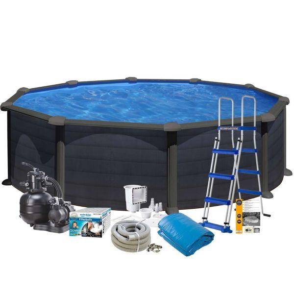 Swim & Fun 2717 Allaspaketti Ø4,6 x 1,2 m, 17 450 l