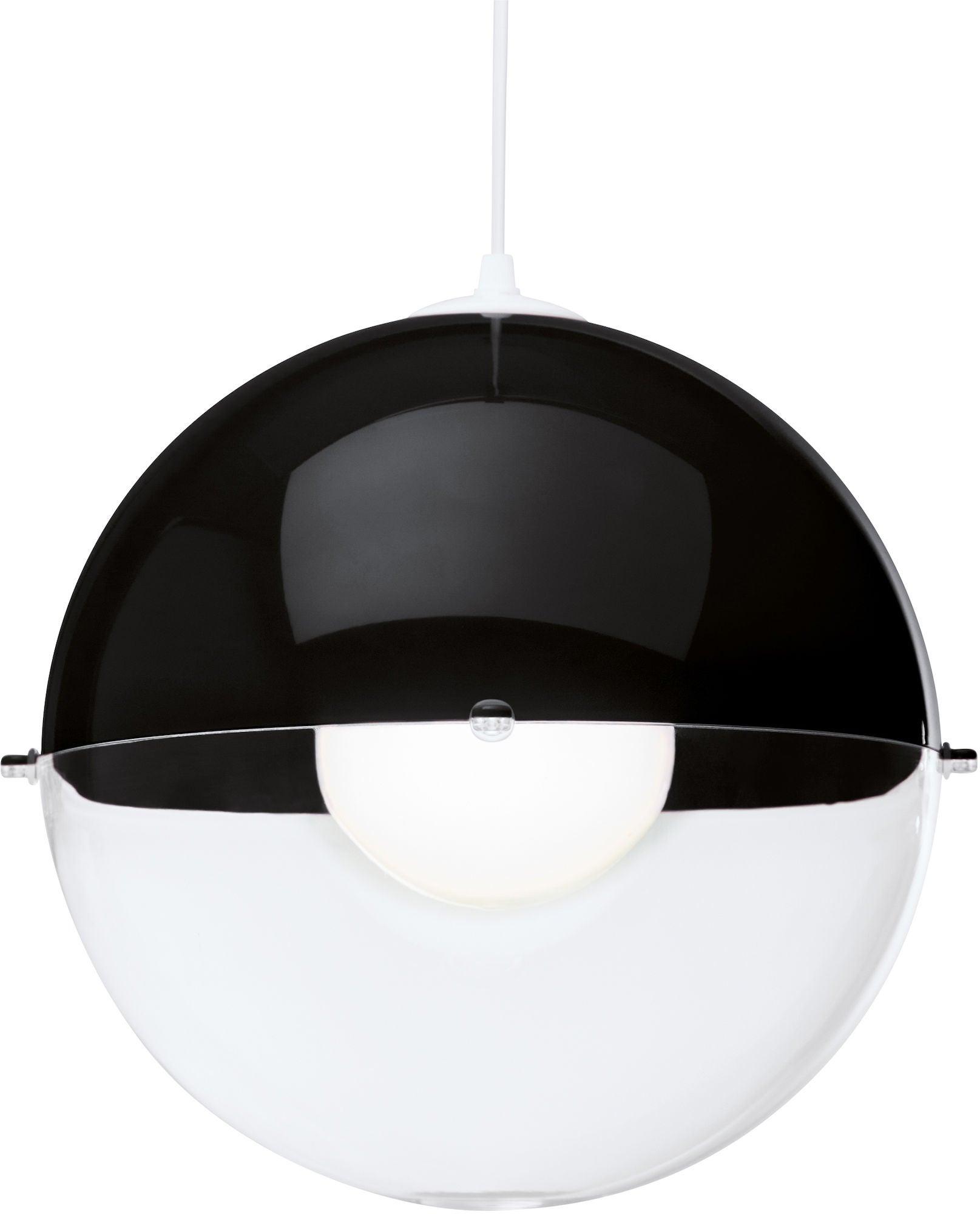 Koziol Kattovalaisin Orion Transparent, Musta