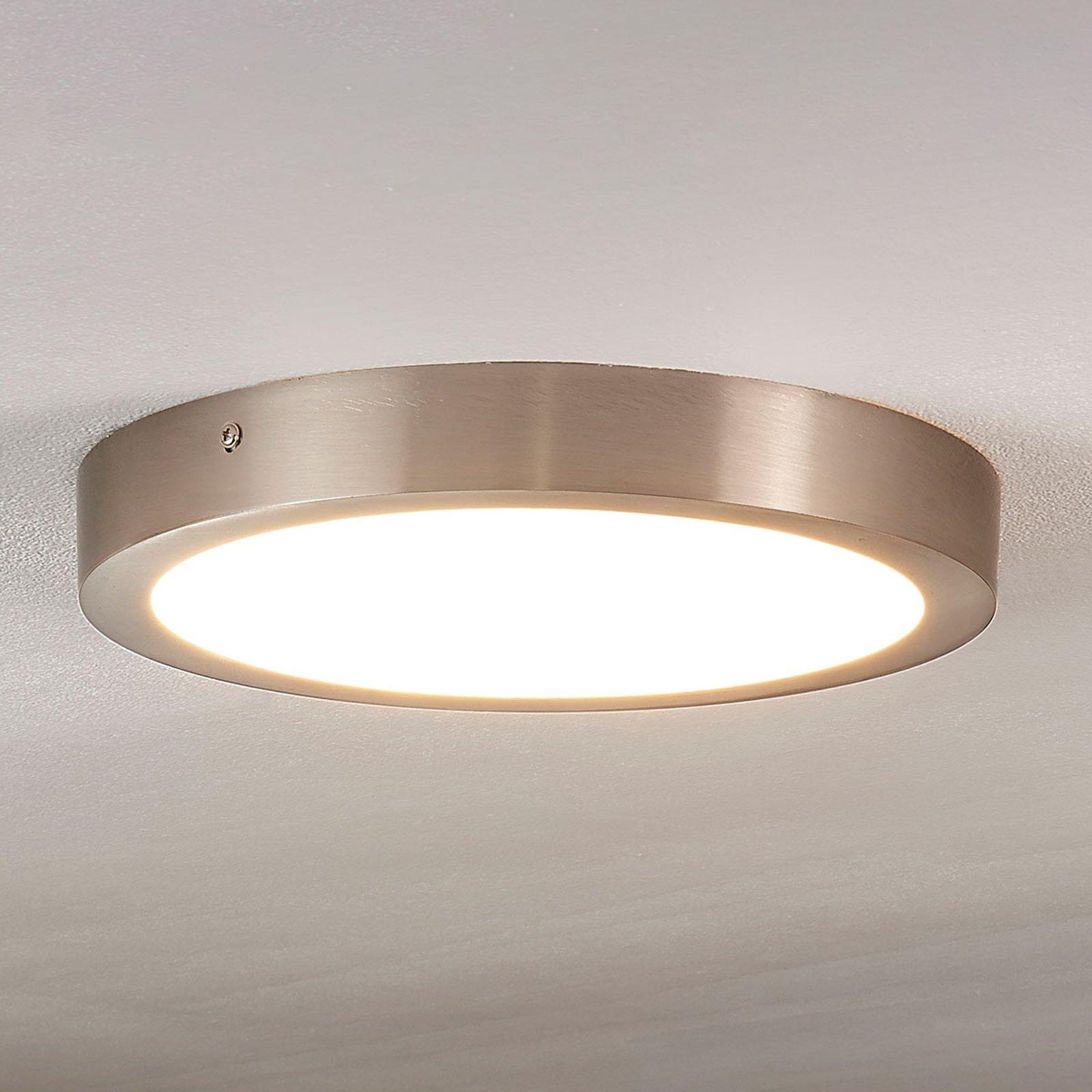 Milea - LED-taklampe med rund form,