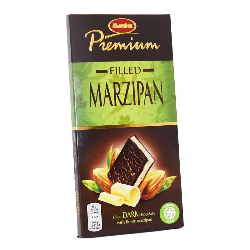 Mörk Choklad Marsipan - 40% rabatt