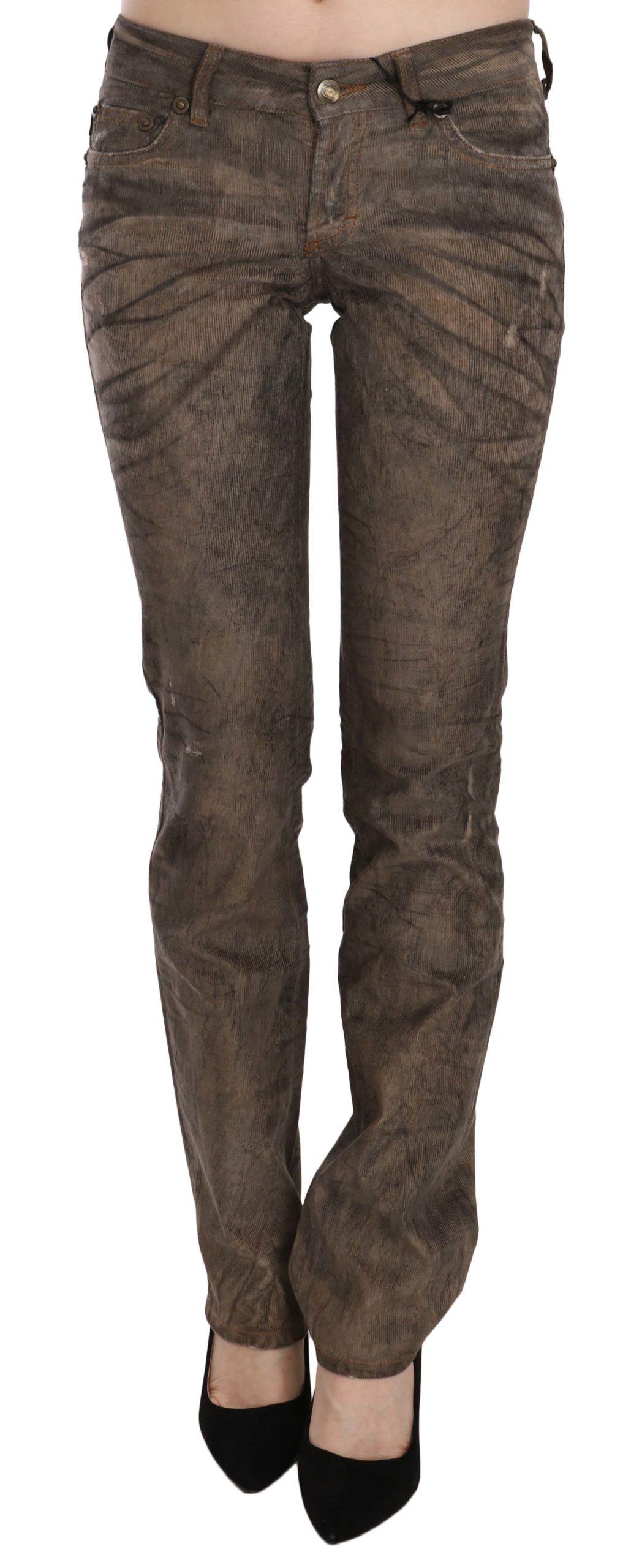 Just Cavalli Women's Low Waist Skinny Denim Trouser Black PAN70330 - W26
