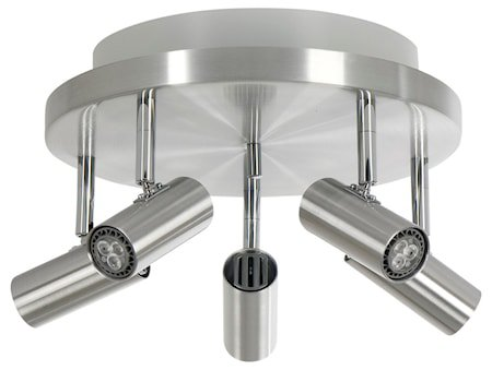 Cato LED 5-spot Alu m/Raking light