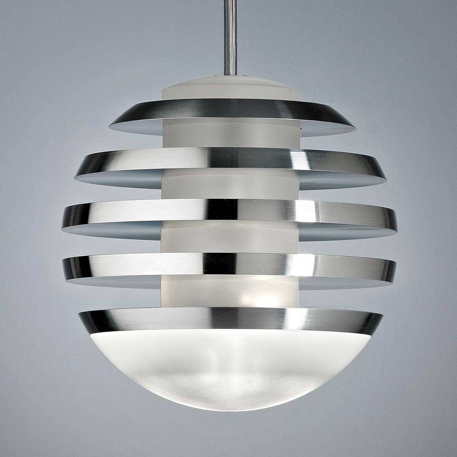 LED-hengelampe BULO aluminium