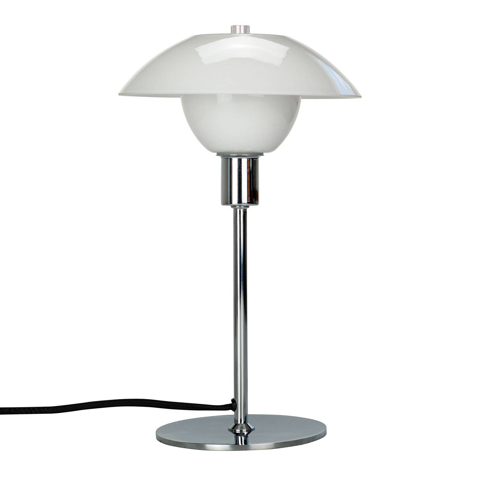 Dyberg Larsen Bergen -pöytälamppu, varjostin Ø20cm