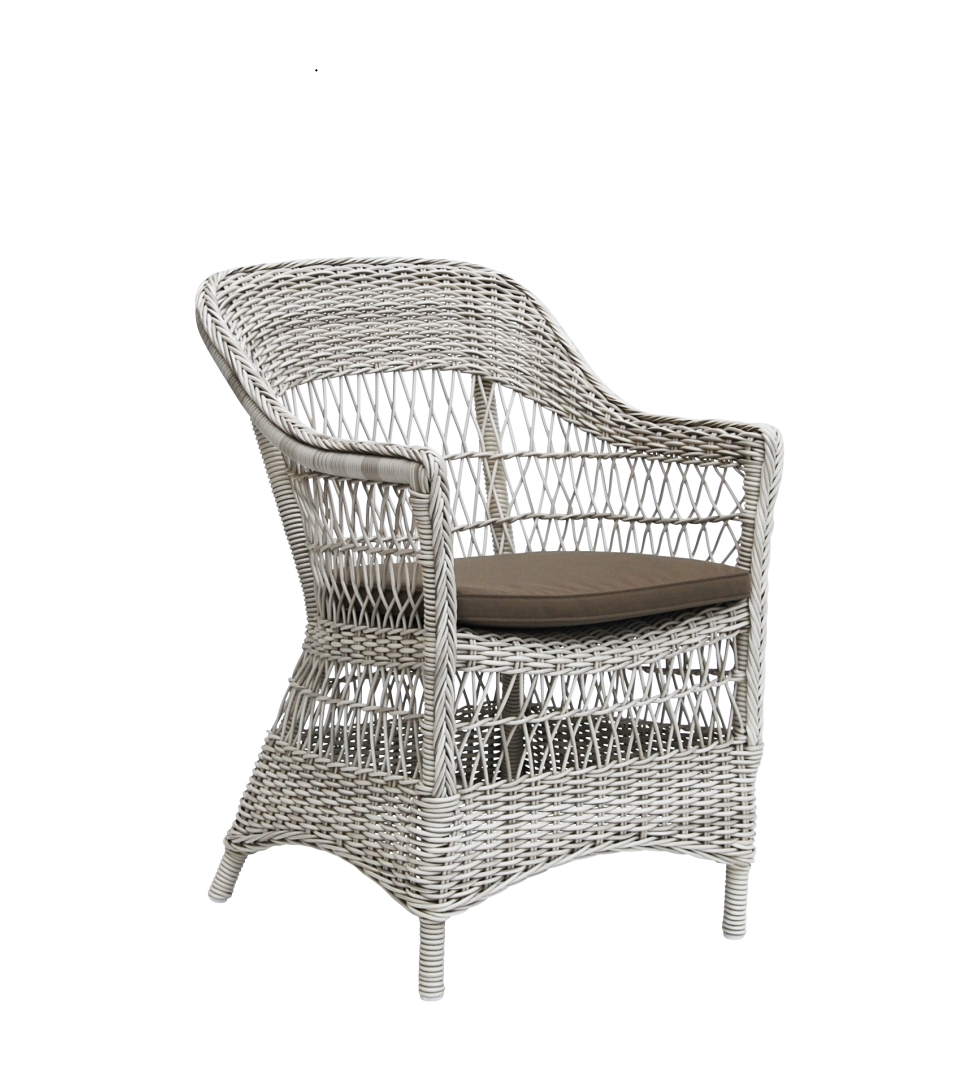 Trädgårdsstol Charlot vintagevit, Sika-design