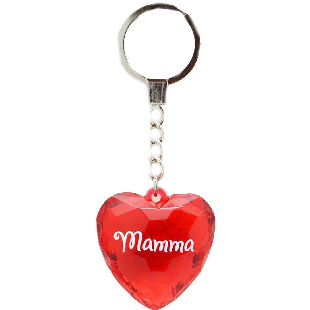 Diamond keyring - Mamma