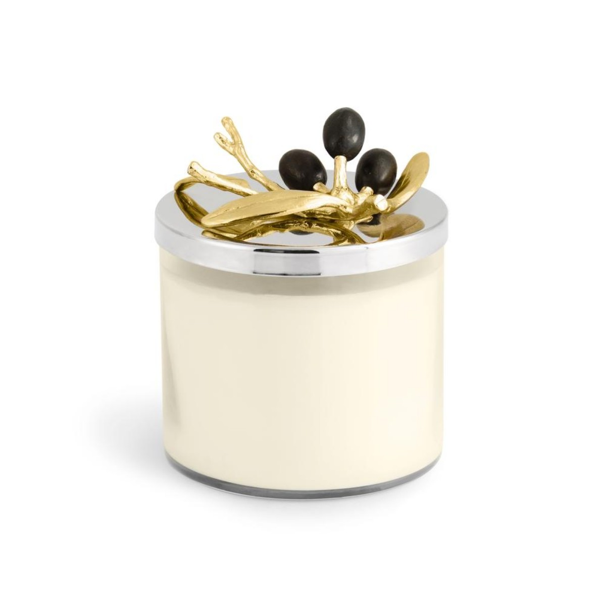 Michael Aram I Olive Branch Gold Candle