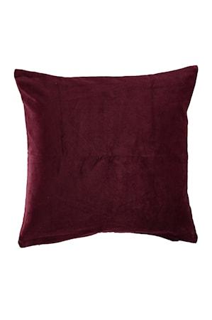 Kuddfodral Ava 50x50 cm - Vinröd