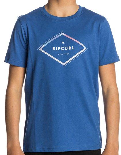 Rip Curl Diamond Wilko SS Tee T-shirt, Turkish Sea 130