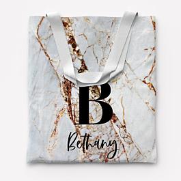Cotton Canvas Mini Tote Bag